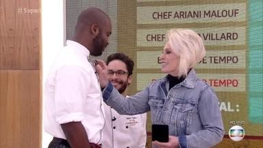 Rafael Zulu vence a Prova de Imunidade no 'Super Chef Celebridades' - Participante sai da panela de pressão direto para a imunidade!