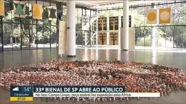 """33ª Bienal de Arte de São Paulo abre as portas hoje ao público - Edição """"Afinidades Afetivas"""" traz sete exposições coletivas e doze individuais"""