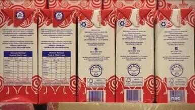 Consumidores comemoram redução no preço do leite em SC - Consumidores comemoram redução no preço do leite em SC