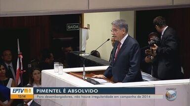 Governador Fernando Pimentel é absolvido em ação do TRE-MG - Governador Fernando Pimentel é absolvido em ação do TRE-MG