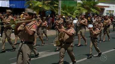 Desfile Militar marca as comemorações da Independência do Brasil em Petrolina - A Avenida Guararapes, no Centro da cidade, ficou cheia na manhã deste 7 de setembro.