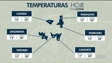 Feriado de sol e temperaturas altas no Noroeste - Em Loanda, a máxima hoje deve chegar a 32ºC.