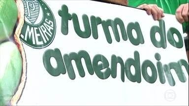 Conheça a Turma do Amendoim, corneteiros organizados do Palmeiras - Conheça a Turma do Amendoim, corneteiros organizados do Palmeiras