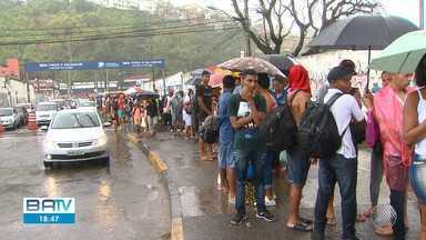 Feriado é marcado por filas e longa espera de passageiros no sistema ferry boat - Muita gente aproveitou o feriadão de 7 de setembro para viajar.