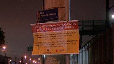 Passagem em nível de Jundiapeba será interditada neste sábado, em Mogi - Interdição será até a segunda-feira.