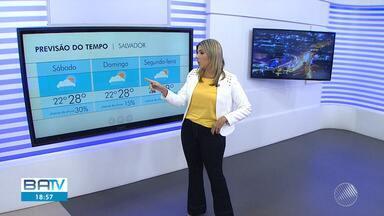 Previsão do tempo: fim de semana deve ter pancadas de chuva em Salvador - Temperaturas variam entre 22ºC e 28ºC na capital baiana até domingo (9).
