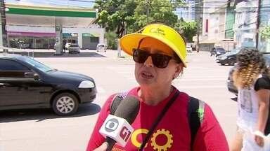 Ana Patrícia Alves, do PCO, fala sobre desigualdade social em Pernambuco - Candidata ao governo estadual participou do Grito dos Excluídos, no Recife.