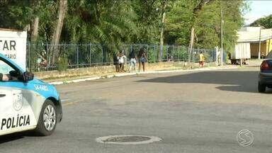 Moradores de Resende, RJ, estão com medo da violência - Sensação de insegurança é grande na cidade.