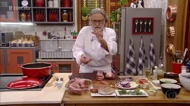 Toque do Ravioli: chef cozinha para a família da Dona Ana - Roberto Ravioli prepara receitas especiais inspiradas na família