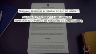 TRE indefere registro de candidatura de Anthony Garotinho (PRP) - Assista a seguir.