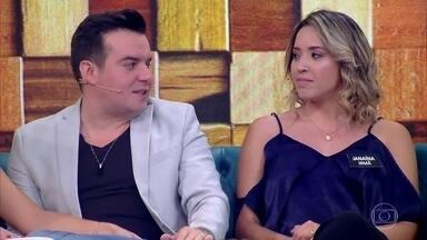 Confissões em família - Naiara e Bruno revelam segredos inéditos para os pais