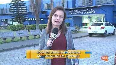 Hospital Regional suspende angioplastias em Joinville; Renato Igor comenta - Hospital Regional suspende angioplastias em Joinville; Renato Igor comenta