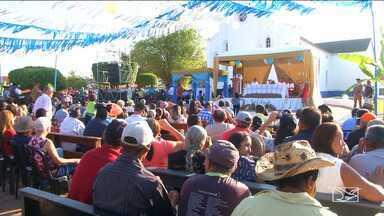 Festejo de Nossa Senhora de Nazaré é realizado no sul do Maranhão - Evento aconteceu no final de semana no município de Riahão e contou com Missa do Vaqueiro.
