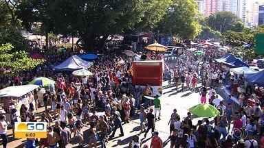 Parada do Orgulho Gay de Goiânia têm 23ª edição realizada em Goiânia - Evento é uma forma de reforçar os direitos e exigir respeito às comunidades diversas.