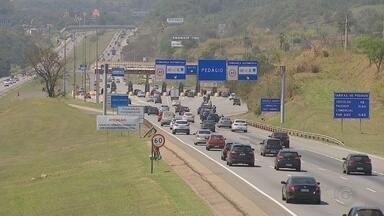 Cerca de 560 mil veículos passam pelo sistema Castello-Raposo neste feriado - Cerca de 560 mil veículos passam pelas rodovias Castello Branco e Raposo Tavares neste feriado.