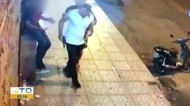 Policial é preso suspeito de atirar em frente a boate em Gurupi; vídeo - Policial é preso suspeito de atirar em frente a boate em Gurupi; vídeo