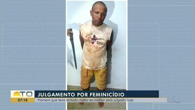 Homem será julgado por feminicídio em Araguaína - Homem será julgado por feminicídio em Araguaína