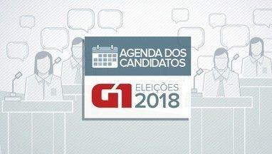 Veja a agenda dos candidatos ao governo da Paraíba para esta segunda-feira (10) - Agenda dos candidatos eleições 2018