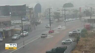 Meteorologista explica as chuvas fora de época no Tocantins - Meteorologista explica as chuvas fora de época no Tocantins