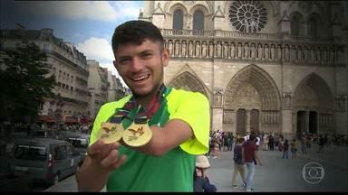 Petrúcio Ferreira: sonhos de um recordista mundial no atletismo - Paratleta paraibano estabelece metas para o futuro e quer se firmar como o mais rápido do mundo