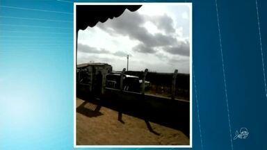 Dois homens são presos e um adolescente apreendido suspeitos de ataque a banco - Saiba mais em g1.com.br/ce