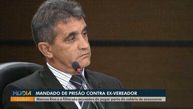 Justiça expede mandado de prisão contra ex-vereador de Cascavel - Marcos Rios e o filho, Maicon Rios, foram condenados em segunda instância por pegar parte do salário de servidores.