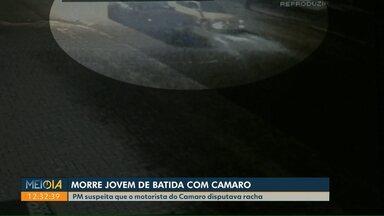 Jovem morre em acidente entre dois carros, em Foz do Iguaçu - A suspeita da polícia é que o condutor de um dos veículos estivesse disputando racha.
