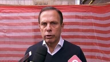 João Doria faz campanha na capital paulista - João Doria, candidato do PSDB, fez campanha na capital de São Paulo.