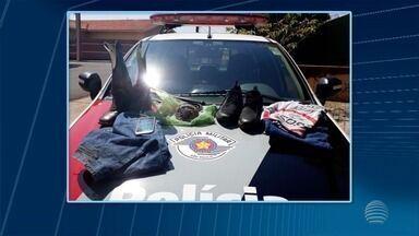 Dupla é presa após tentar matar idoso em incêndio - Homens foram localizados pela Polícia Militar, em Flórida Paulista.