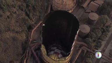 Usiminas retoma processo de produção após explosão de gasômetro em Ipatinga - Explosão foi um susto mas não deixou transtornos.