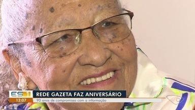 Rede Gazeta completa 90 anos - Jornal foi fundado em 11 de setembro de 1928, em Vitória.