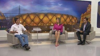 Agenda do candidato David Almeida inclui dia de entrevistas na Rede Amazônica - David concedeu entrevista ao vivo ao JAM1 e ao G1