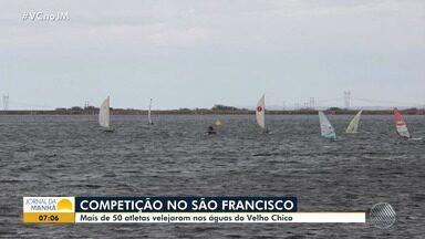 Copa Vela: mais de 50 atletas velejam nas águas do Velho Chico - Saiba mais sobre a competição que acontece no Rio São Francisco.