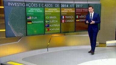 Brasil sobe 15 posições em ranking sobre combate à corrupção - Estudo da Transparência Internacional analisou esforços de 44 países no combate ao pagamento de propina para autoridades no exterior.