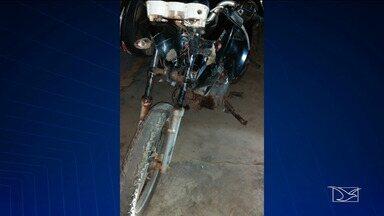 Acidente deixa motociclista gravemente ferido na BR-222 - Acidente aconteceu na quarta-feira (12) no povoado Ladeira do Gado, cerca de 15 da cidade de Santa Inês.