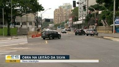 Novo trecho da Leitão da Silva precisa de liberação para ser interditado - A obra deve ser entregue em dezembro deste ano.
