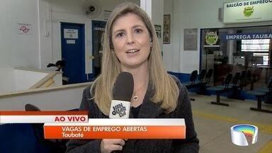 Taubaté oferece 50 vagas de emprego nesta quinta-feira - Vagas podem ser buscadas no Balcão de Empregos.