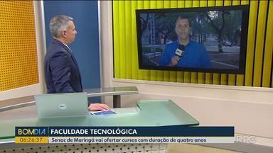 Autorizada a implantação da primeira Faculdade Tecnológica em Maringá - O Senac vai ofertar cursos com duração de quatro anos.