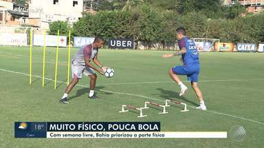 Bahia: time prioriza parte física em treinos - Veja os destaques do tricolor baiano.