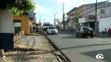 Confira o trânsito no bairro do Feitosa, em Maceió - Confira a reportagem.