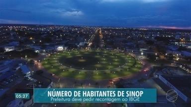 Sinop pede recontagem do número de habitantes - Sinop pede recontagem do número de habitantes