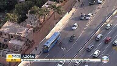 Suspeito morre em tentativa de assalto em Belo Horizonte - Incidente foi na BR-356, na capital.