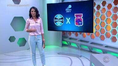 Globo Esporte RS - Bloco 1 - 14/09/2018 - Assista ao vídeo.
