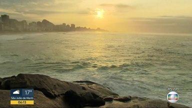 Rio de Janeiro tem previsão de pancadas de chuva para esta segunda-feira (17) - A previsão é de pancadas de chuva isoladas na parte da tarde.