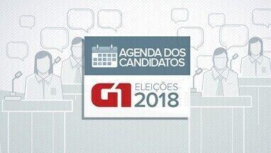Veja a agenda dos candidatos ao governo da Paraíba nesta segunda-feira (17) - Agenda dos candidatos eleições 2018.