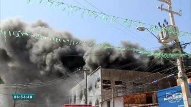 Mais informações sobre incêndio no Planalto Pici - Saiba mais em g1.com.br/ce