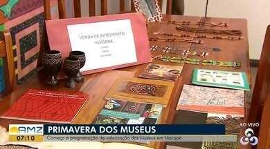 Começa hoje (17) a programação de valorização do Museus em Macapá, no AP - Ideia é fazer um passeio na biblioteca e mostrar o que tem no Museu além dos livros. Evento acontece na biblioteca pública Elcy Lacerda