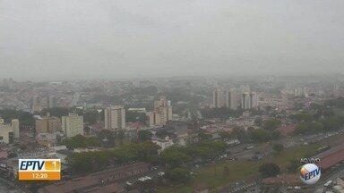 Campinas tem máxima de 20ºC nesta segunda-feira - Confira a previsão do tempo nas cidades da região.