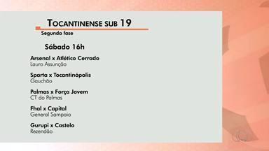 Tocantinense Sub-19: segunda fase começa neste sábado (22) - Tocantinense Sub-19: segunda fase começa neste sábado (22)
