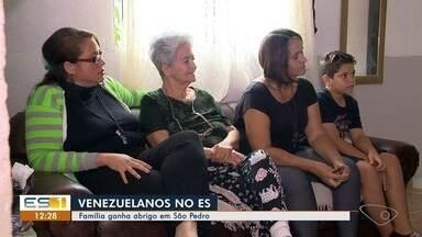 Igrejas ajudam venezuelanos a ter refúgio em Vitória - Eles fogem da crise política, econômica e social do país.